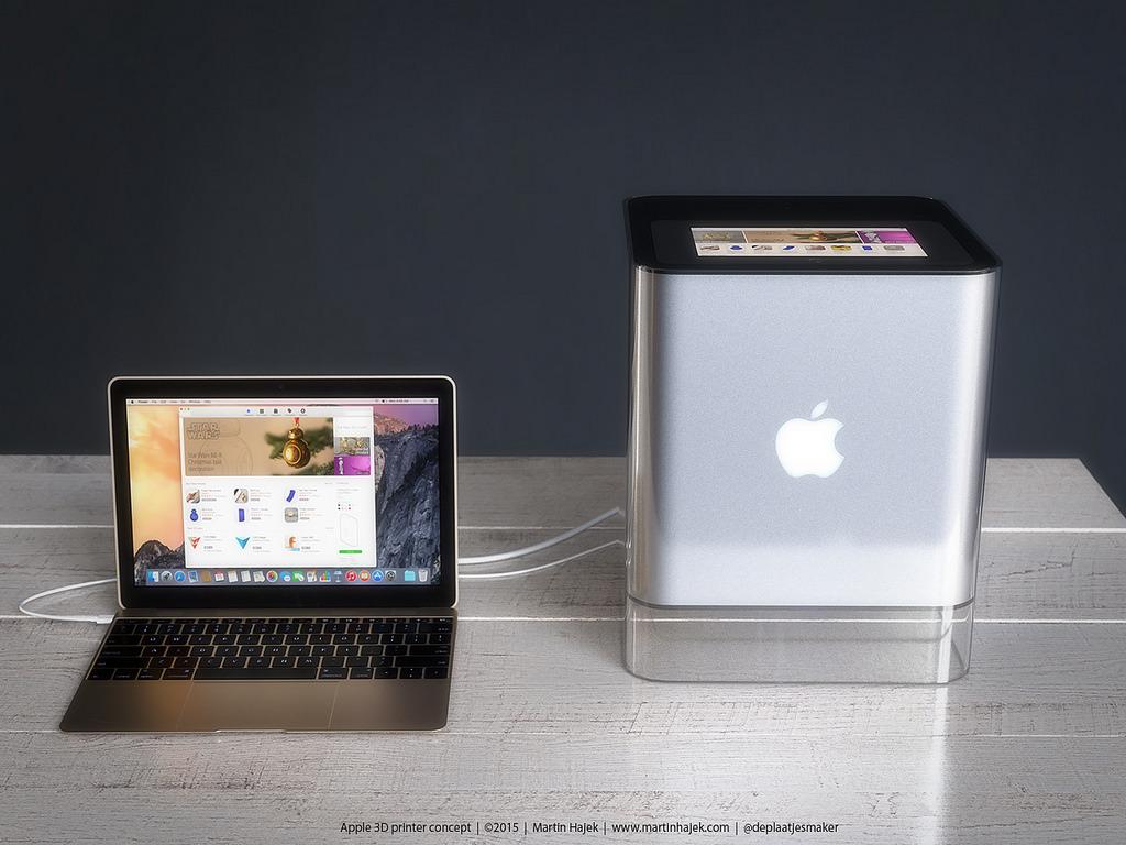Как может выглядеть 3D-принтер от Apple? Представлена возможная дизайн-концепция - 5