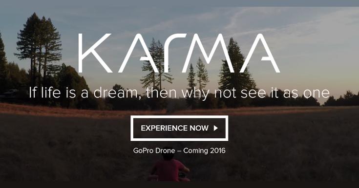 GoPro Karma — первый дрон компании, который анонсируют в следующем году