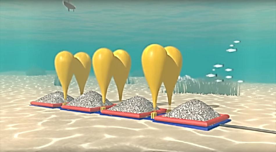 Компания Hydrostor предложила накапливать энергию ВИЭ, используя подводные шары со сжатым воздухом - 1