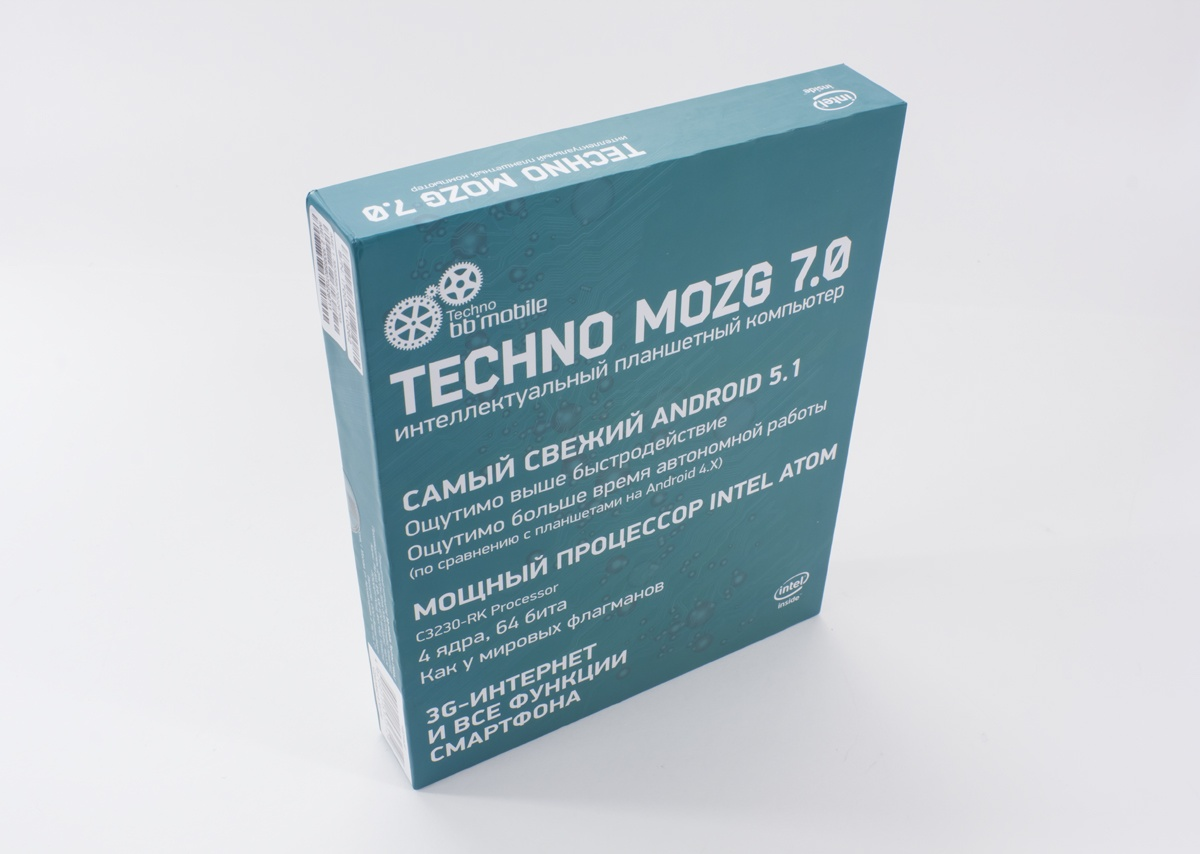 Обзор 7-дюймового bb-mobile Techno MOZG 7.0 на Intel® Atom™ X3 - 3