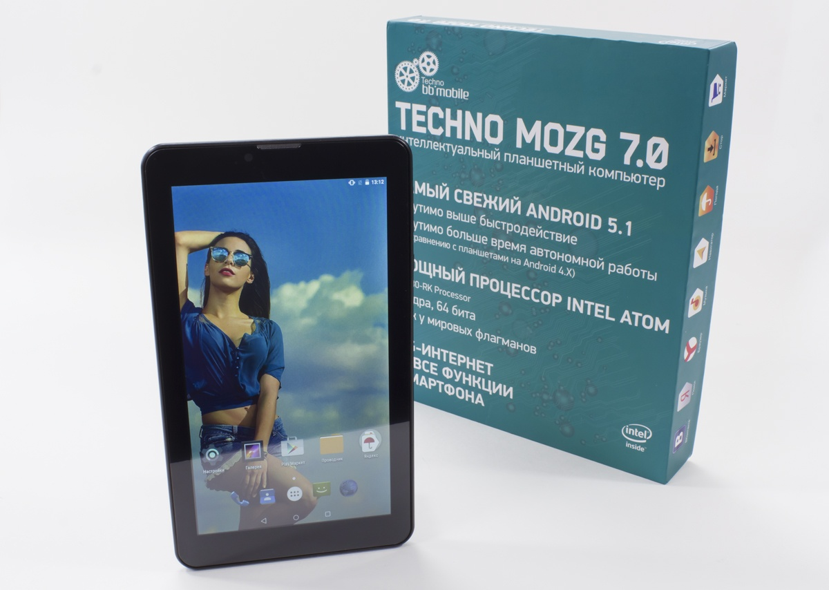 Обзор 7-дюймового bb-mobile Techno MOZG 7.0 на Intel® Atom™ X3 - 1