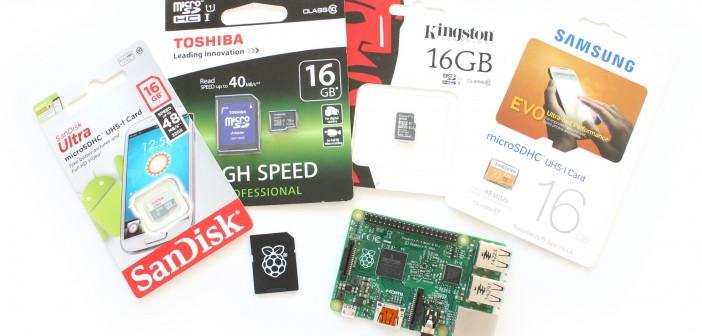 Небольшой тест microSD карт для Raspberry Pi - 1