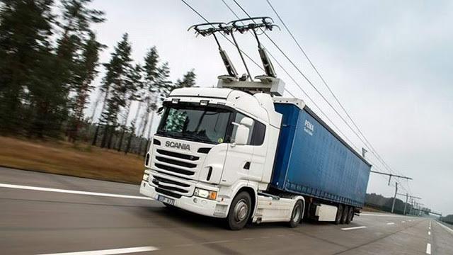«Электрофуры» в ближайшее время появятся на дорогах Швеции - 1