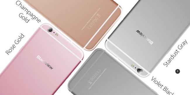 Появились фотографии смартфона Blackview Ultra Plus — свежего клона iPhone 6S Plus