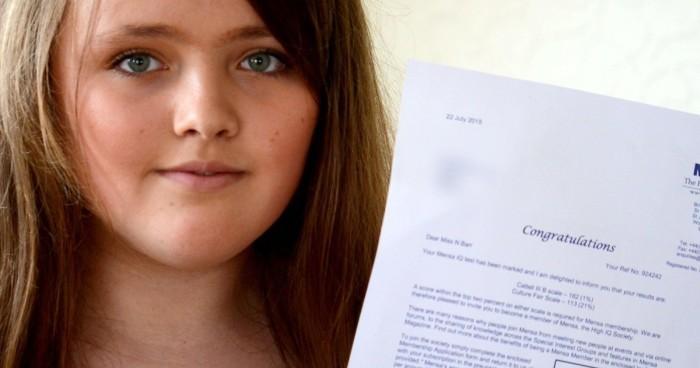 Самую умную девочку в мире пригласили в Оксфорд - 1