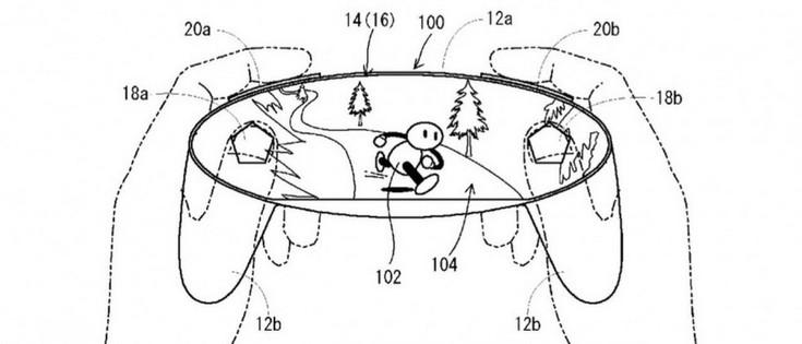 Экран Sharp Free-Form могут получить контроллеры для следующей консоли Nintendo