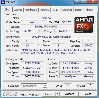 AMD начала продажи процессора FX-6330 Black Edition