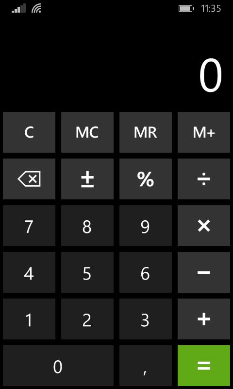 Анимированное изменение ориентации экрана в приложении Windows Phone - 1