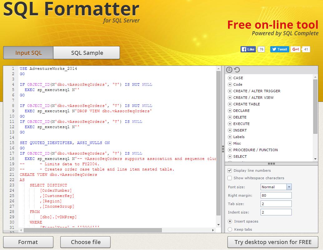 Бесплатные инструменты для разработчиков баз данных - 4