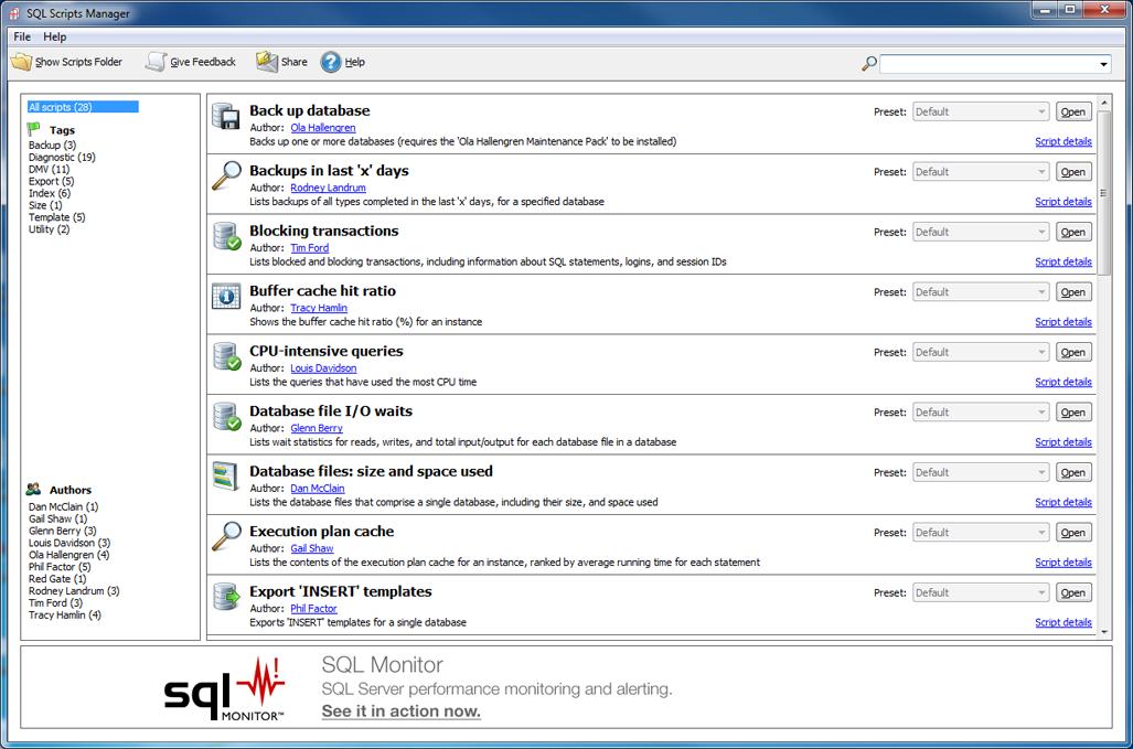 Бесплатные инструменты для разработчиков баз данных - 7