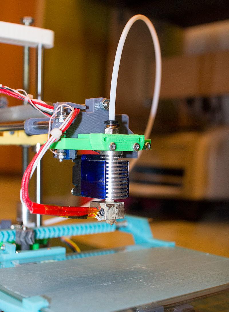 Как я доработал 3D принтер MC2 от Мастер Кит - 4