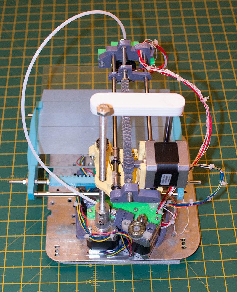 Как я доработал 3D принтер MC2 от Мастер Кит - 6