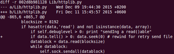 Как я отлаживал python httplib и httplib2 - 3