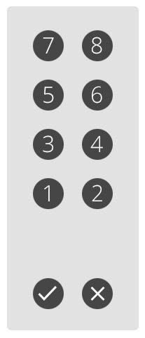 Панель кнопок в лифте: двери, не спешите закрываться - 3