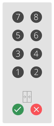 Панель кнопок в лифте: двери, не спешите закрываться - 4