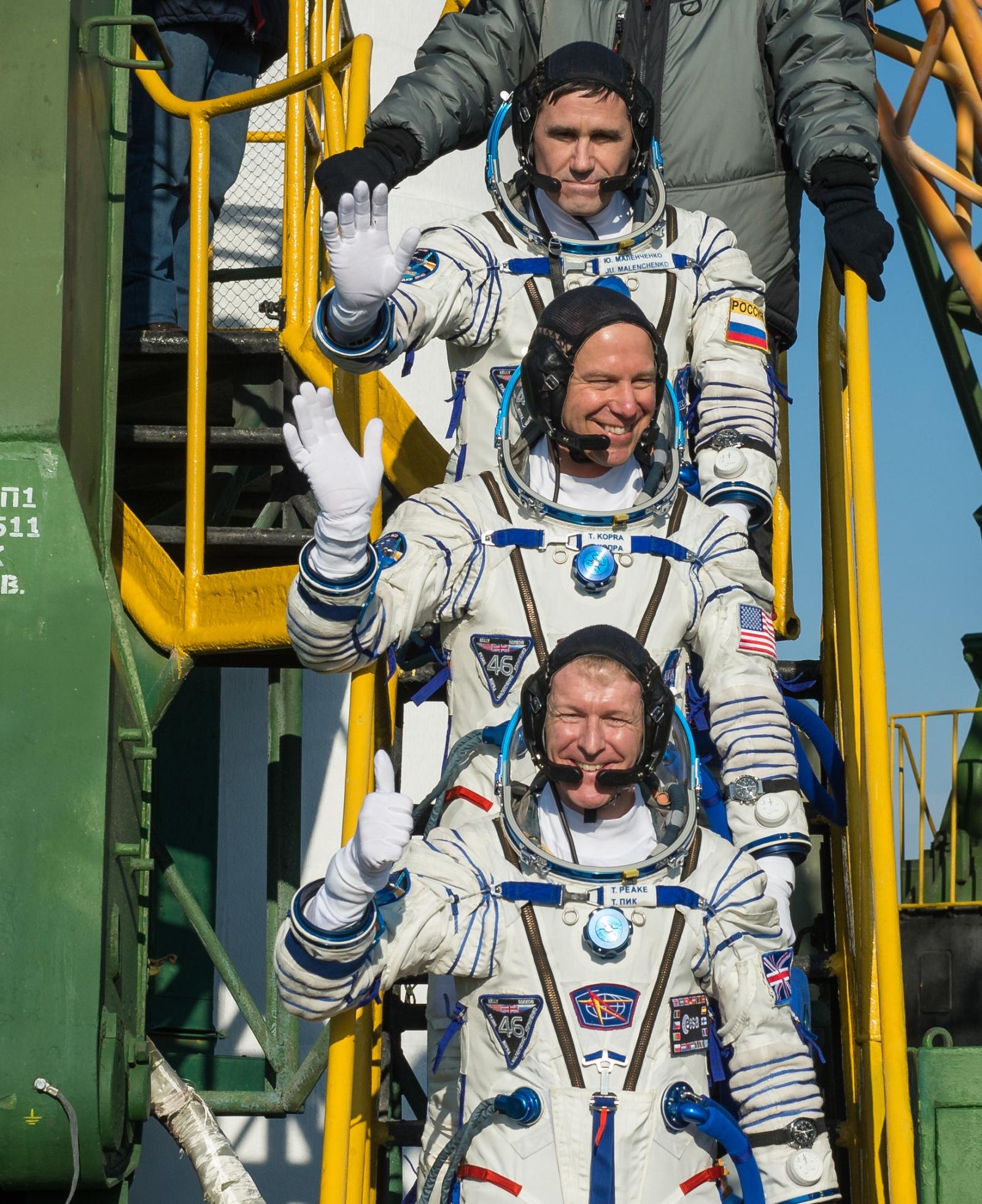 «Союз ТМА-19М» успешно запущен к МКС - 1