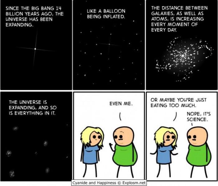 Анекдоты про вселенную
