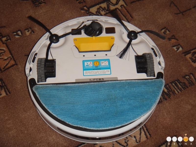 Chuwi Ilife V5 — робот-пылесос за 99$ или как превратить ежедневную уборку в развлечение - 19