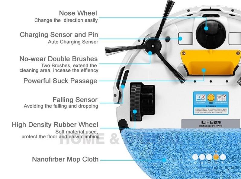 Chuwi Ilife V5 — робот-пылесос за 99$ или как превратить ежедневную уборку в развлечение - 20