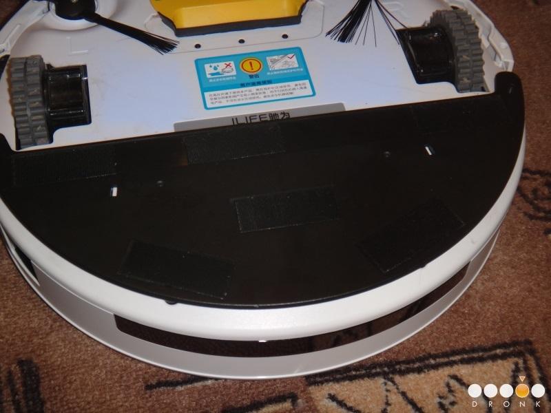Chuwi Ilife V5 — робот-пылесос за 99$ или как превратить ежедневную уборку в развлечение - 24