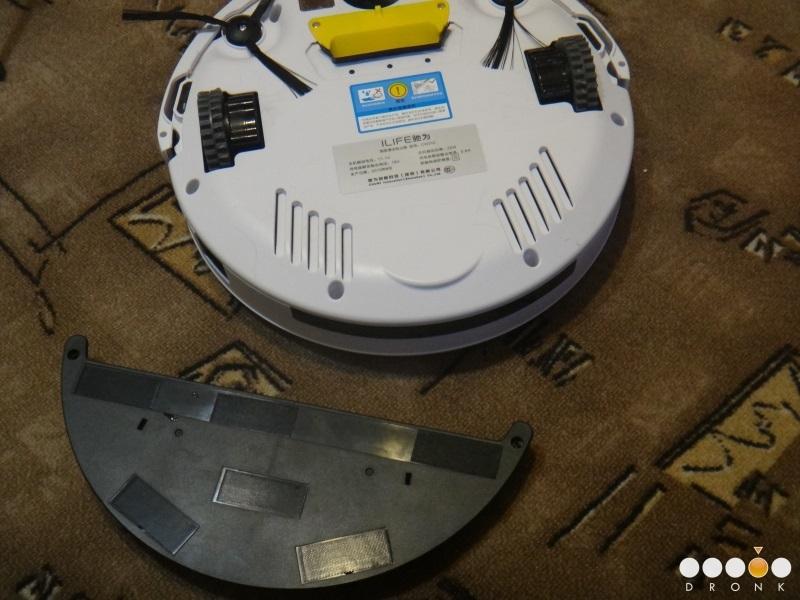 Chuwi Ilife V5 — робот-пылесос за 99$ или как превратить ежедневную уборку в развлечение - 41