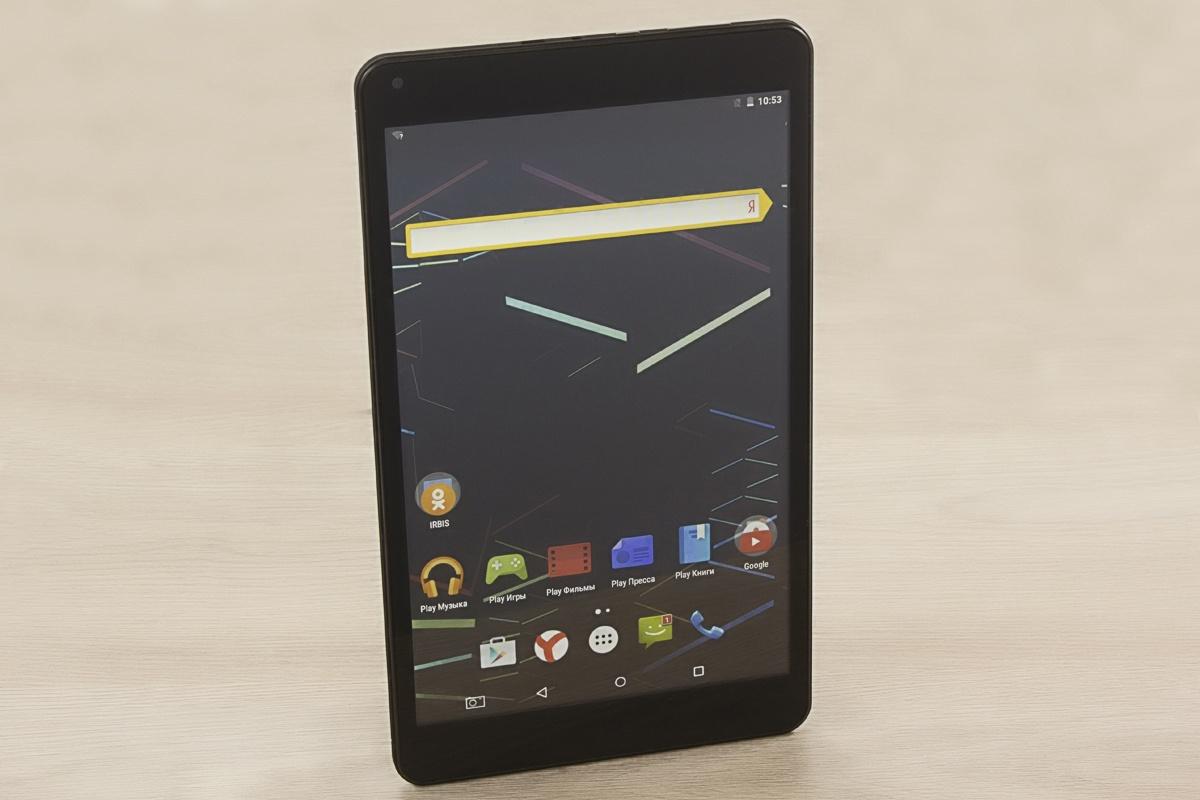 Обзор планшета Irbis TZ94 – большой экран и процессор Intel® за скромную сумму - 20