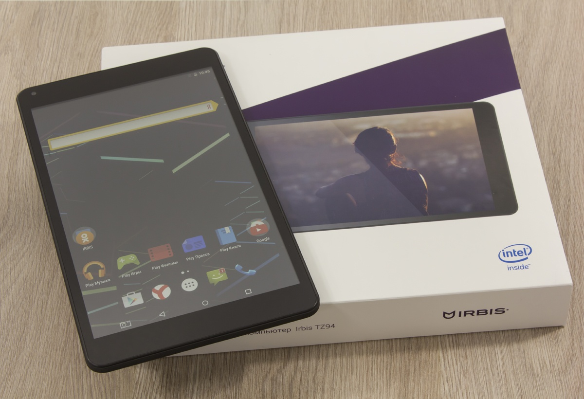 Обзор планшета Irbis TZ94 – большой экран и процессор Intel® за скромную сумму - 3