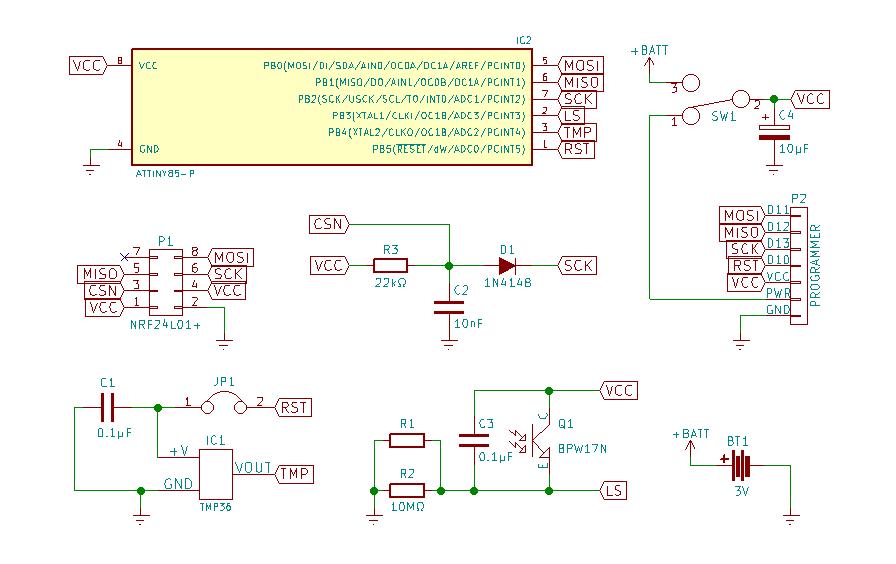 ATtiny85: прототип беспроводного сенсора - 16