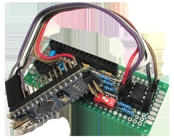 ATtiny85: прототип беспроводного сенсора - 5