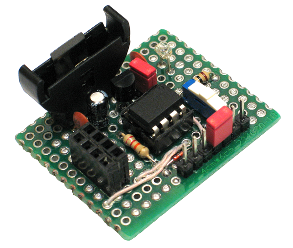 ATtiny85: прототип беспроводного сенсора - 1