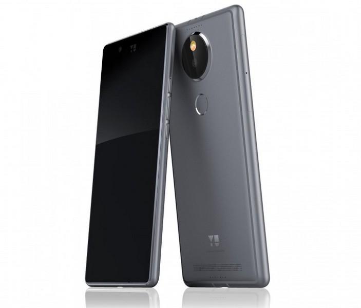 Смартфон Yu Yutopia похож на аппараты Lumia