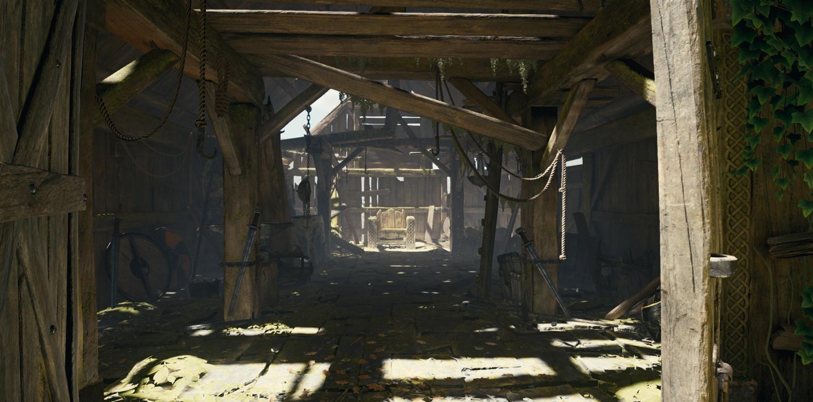 Демо-проект The Blacksmith от Unity - 4