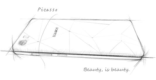 Смартфон Bluboo Picasso получит сапфировое стекло