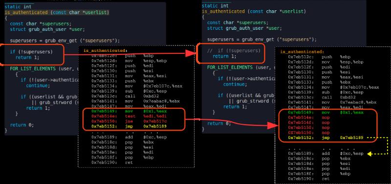 Критическая уязвимость в загрузчике Grub2 позволяет обходить защиту паролем - 3
