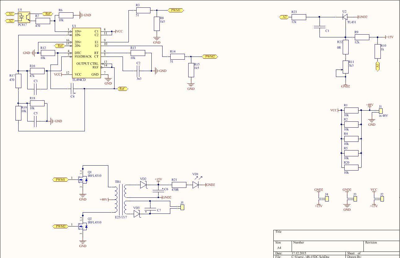 Преобразователь напряжения 12 в 220 вольт самодельный схема