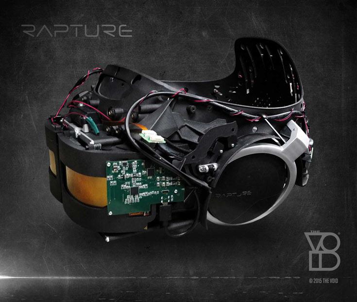 Ранее разработчики The Void использовали гарнитуры Oculus Rift DK2