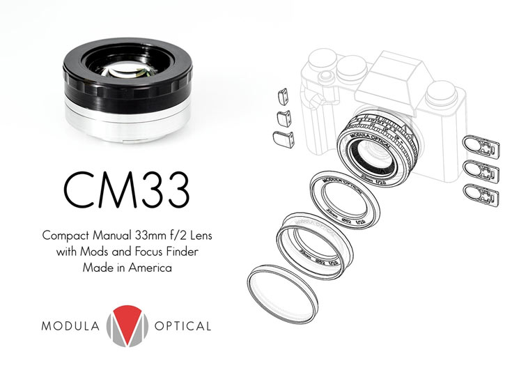 Объектив CM33 будет доступен в вариантах с креплениями Fujifilm X, Sony E и Canon M