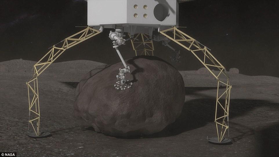 NASA планирует миссию по захвату и изучению астероидов - 1