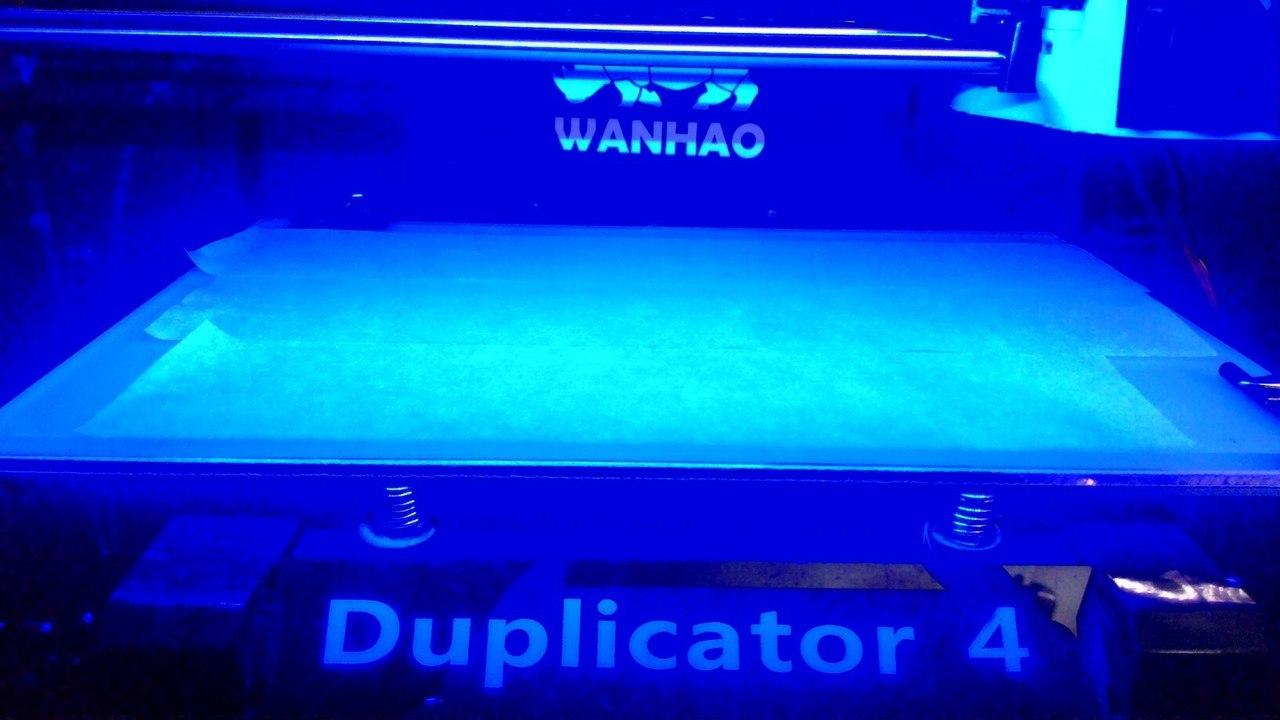 Wanhao Duplicator 4, Тысячелетний сокол и напильник - 2