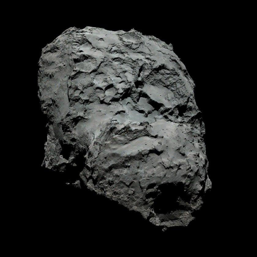 Космическое агентство ESA выложило в Сеть новые фотографии кометы Чурюмова-Герасименко - 2