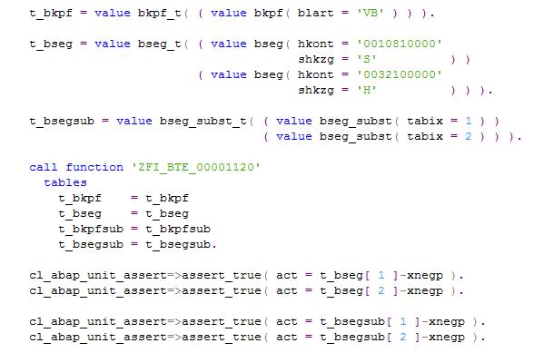 Модульные тесты в ABAP - 7