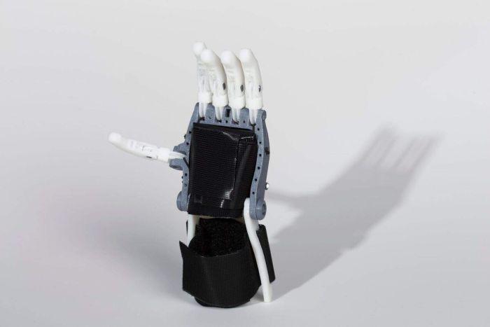 Создатели распечатанного на 3D принтере протеза руки вдохновились проектом 1845 года - 5