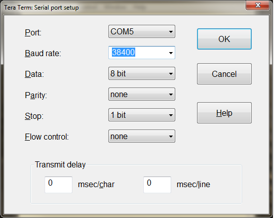 Тетрис на микроконтроллере в Tera Term - 4