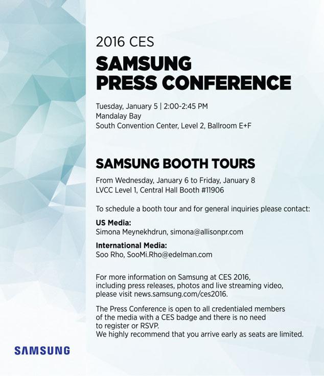 Возможно, южнокорейский производитель приберегает анонс новых флагманских смартфонов к февральскому мероприятию MWC 2016