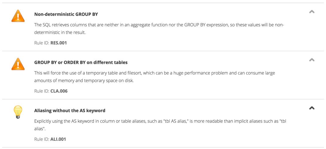 Сервис от компании Percona для создания оптимальной конфигурации MySQL серверов и анализа SQL-запросов - 5