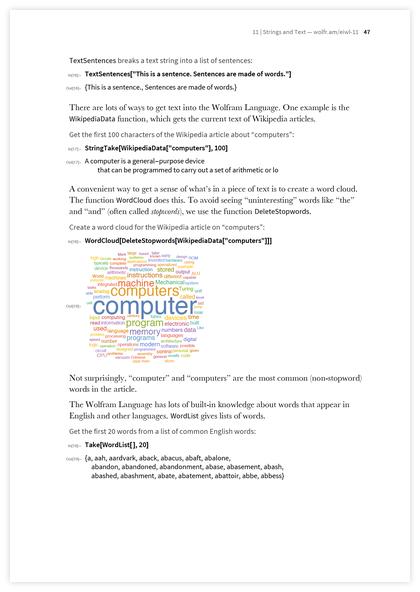 Книга Стивена Вольфрама «Элементарное введение в язык Wolfram Language» - 21