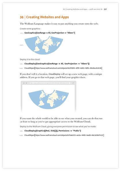 Книга Стивена Вольфрама «Элементарное введение в язык Wolfram Language» - 37
