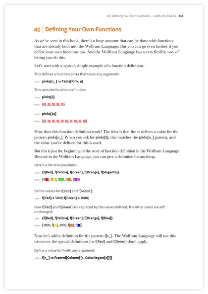 Книга Стивена Вольфрама «Элементарное введение в язык Wolfram Language» - 39