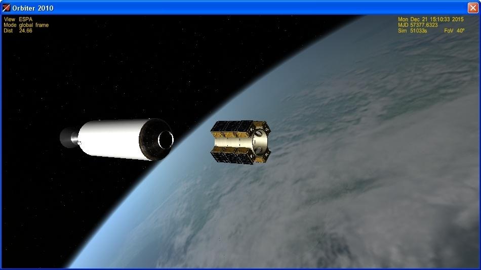 Летим и садимся вместе с Falcon 9R - 24