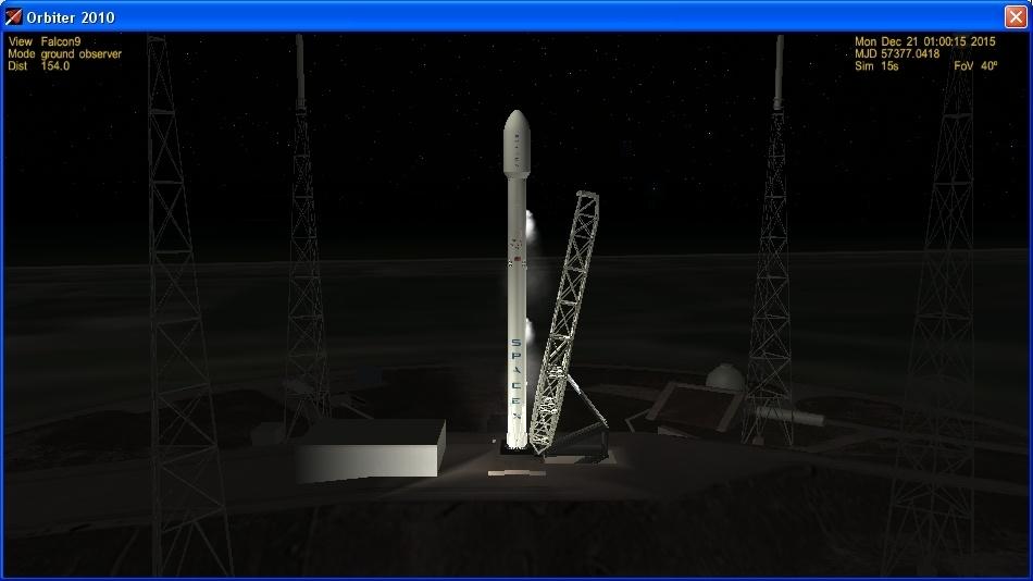 Летим и садимся вместе с Falcon 9R - 5